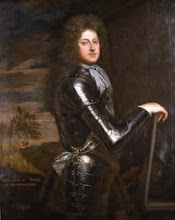 Photo: Sir William Cavendish, 1640 – 1707 In 1694 he was created 1st Duke of Devonshire for his part in bringing William of Orange to the English throne. Married Lady Mary Butler.