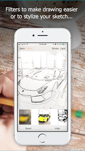 Screenshot for Da Vinci Eye: Anyone Can Draw in Hong Kong Play Store