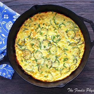 Summer Zucchini and Corn Frittata Recipe