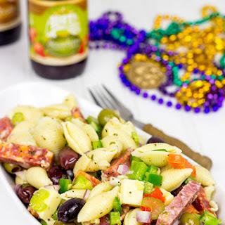Muffaletta Pasta Salad