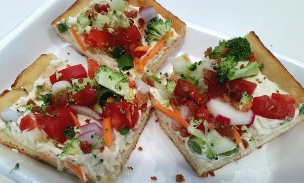 ~ Veggie Squares & Bacon Too ~ Recipe