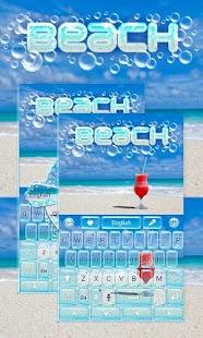 Beach-GO-Keyboard-Theme