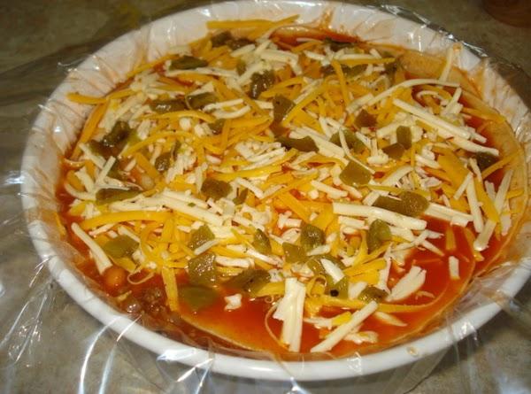 Bean-and-beef Enchilida Casserole Recipe
