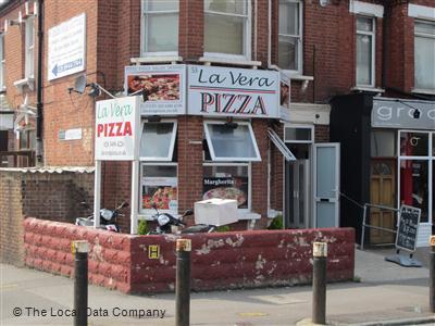La Vera Pizza On Colney Hatch Lane Pizza Takeaway In