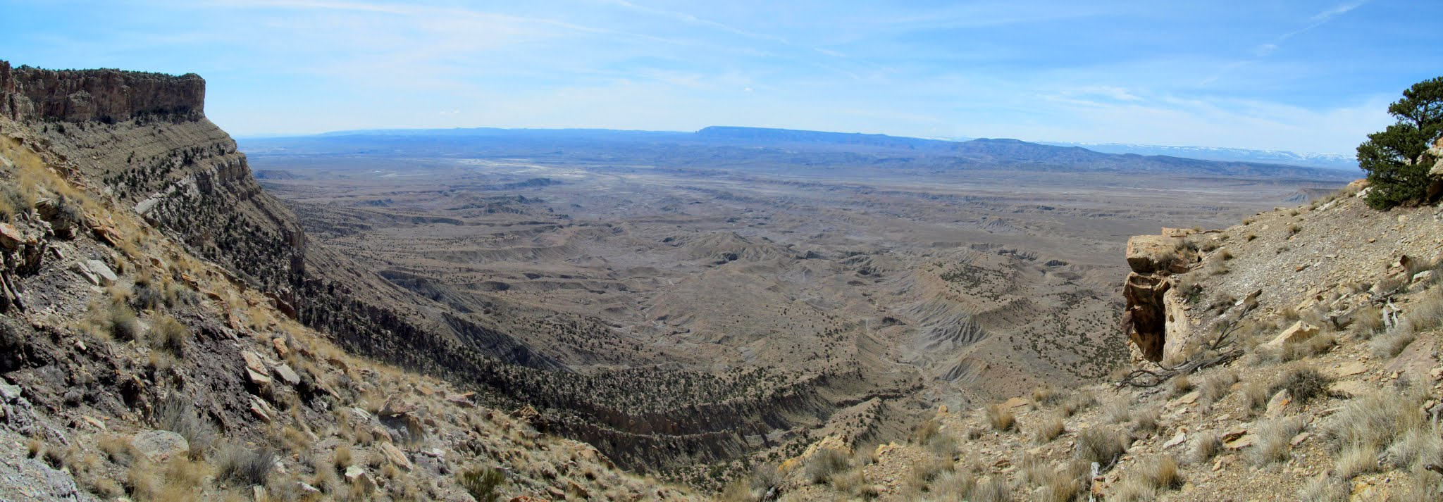 Photo: Panorama from the notch