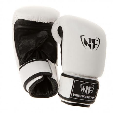 Slaghandske NF White Leather