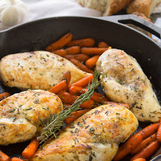 Healthy Rosemary Chicken