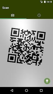 Green QR Code Reader - náhled