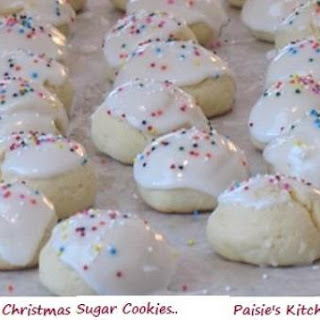 Italian Christmas Sugar Cookies