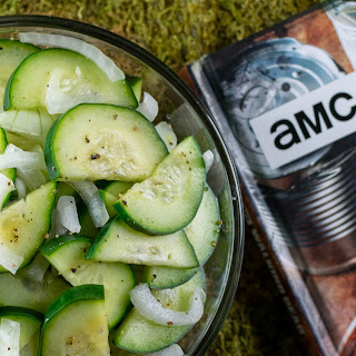 Rick's Cucumber and Onion Salad.