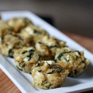 Spinach and Feta Quinoa Bites.
