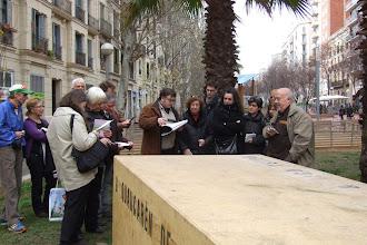 Photo: Davant el monument a Mistral