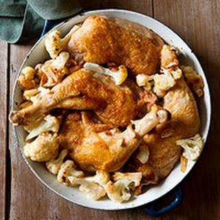 Roasted Chicken & Cauliflower.