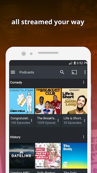 Plex para Android v7.28.0.15363 [Desbloqueado]