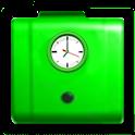 Clock my work icon