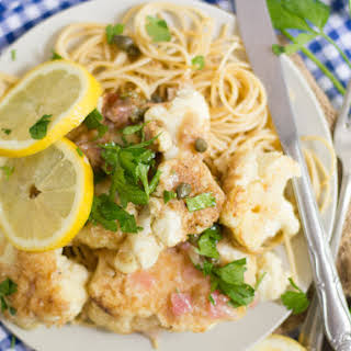 Cauliflower Piccata.