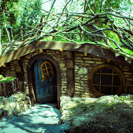 Hobbit house by Nena Volf - Buildings & Architecture Homes ( otok sveti nikola, hrvatska, poreč, hdr, mala kuća )
