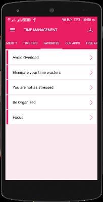 Time Management Tips - screenshot