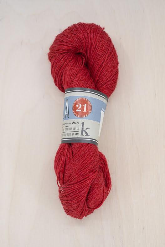 Kalinka 21 Lin/Ull - röd, 517