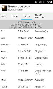 Horoscope Vedic- screenshot thumbnail