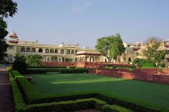 Photo: Jai Mahal Palace à Jaïpur au Rajasthan.