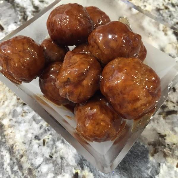 What?!?! Grape Jelly Bbq Meatballs?!?!?! Recipe