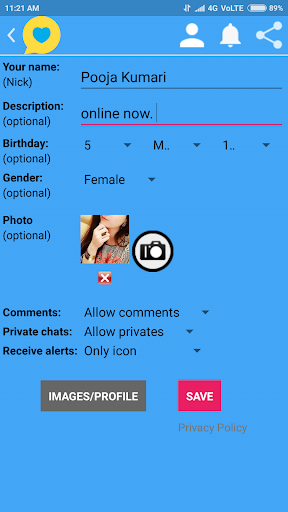 Indian Girls Chat for PC