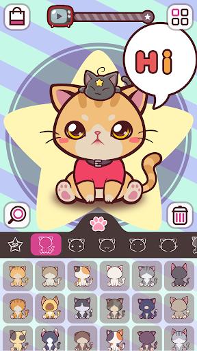 KittCat Story: Cat Avatar Maker  screenshots 1