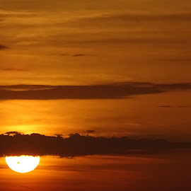 sunset in summer by Patrizia Emiliani - Landscapes Sunsets & Sunrises ( sunset, summer,  )