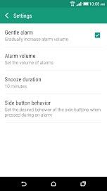 HTC Clock Screenshot 5