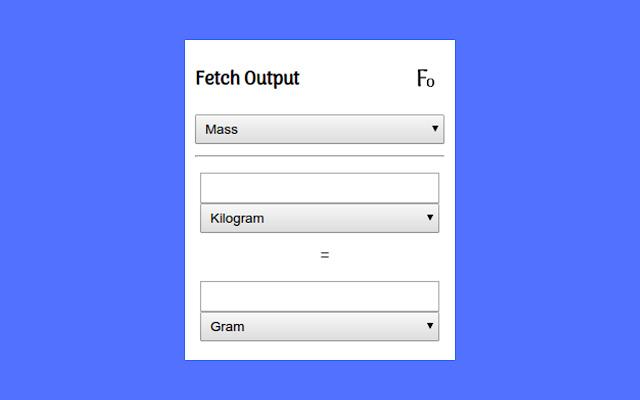 Fetch Output