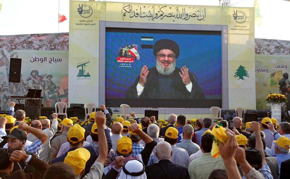 Hezbollah-leier dreig Israel oor 'n 'aanval' in Beiroet