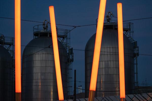 Luci e silos di DiegoCattel