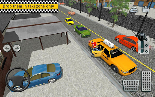City Taxi Driving simulator: online Cab Games 2020 apkpoly screenshots 12