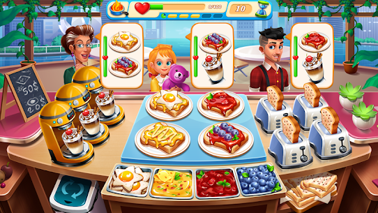 Cooking Marina – fast restaurant cooking games 3