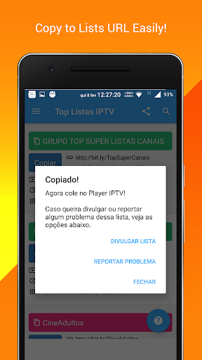 Free IPTV Lists (Official)  for PC