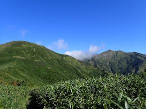 三ノ峰と別山