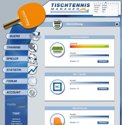 Tischtennis Manager 1.2.0 screenshots 9