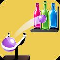Knock Down Bottle – Bottle Shoot, Hit Game Free icon