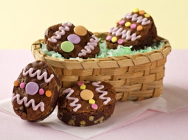 Easter Bunny Egg Brownies Recipe