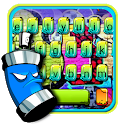 Colorful Graffiti Party Keyboard Theme icon