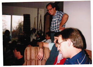 Photo: 1985 party at Bodwin house, this wasn't an MTS event - probably a party to watch a Michigan football or basketball game.