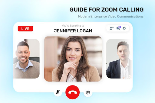 Guide For ZOOM Cloud Meetings VideoCall Conference screenshot 7