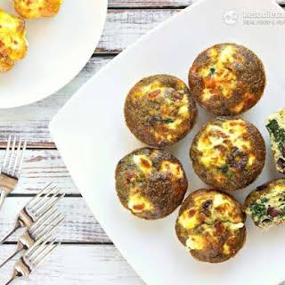 Pesto Egg Muffins.