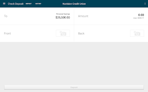 NuVision FCU – Easier Banking- screenshot thumbnail