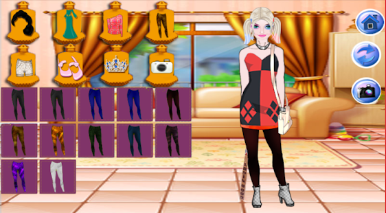 Harley Quinn Dress Up: fashion girl Squad - náhled