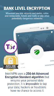 IntelliVPN - Unlimited VPN | VPN +Tor- screenshot thumbnail