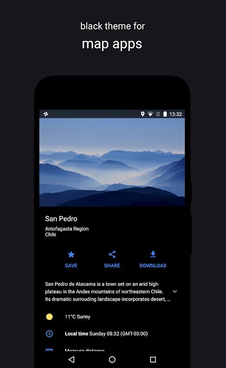 Swift Black Substratum Theme +Oreo & Samsung theme – (Android Apps