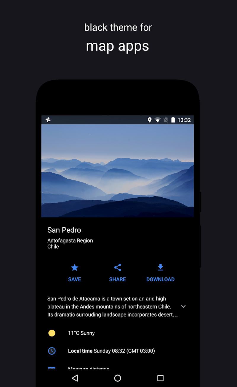Swift Black Substratum Theme +Oreo & Samsung theme Screenshot 4