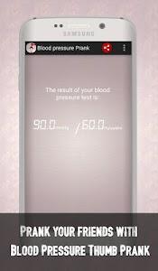 Blood Pressure Thumb Prank screenshot 4